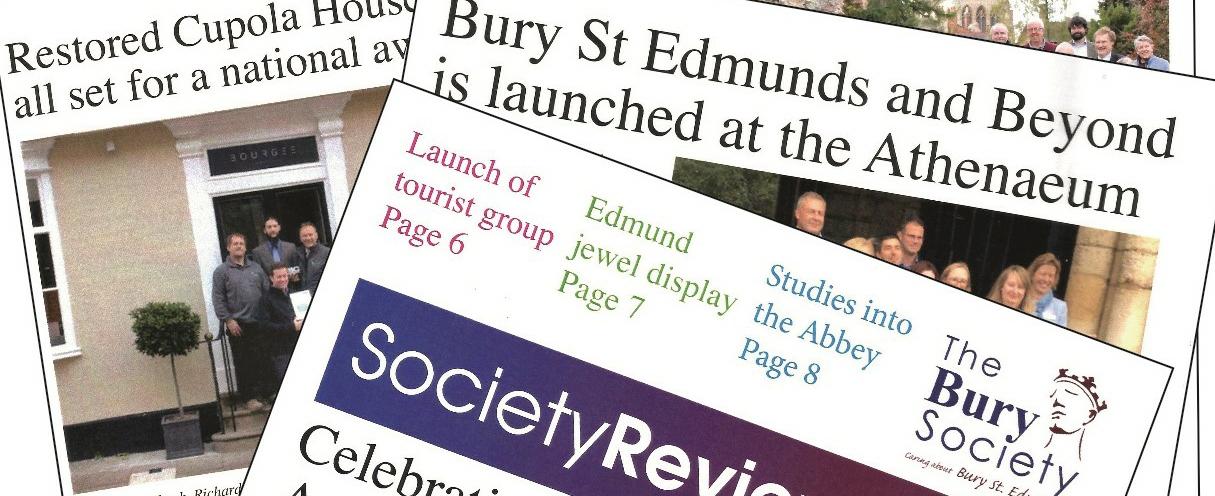 Bury Society Scrapbook