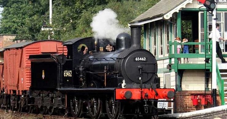 Railways arrive